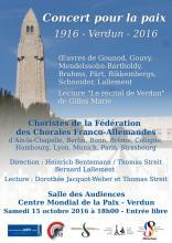 Affiche concert Verdun 2016